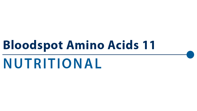 Amino Acids 11 Profile - Blood Spot