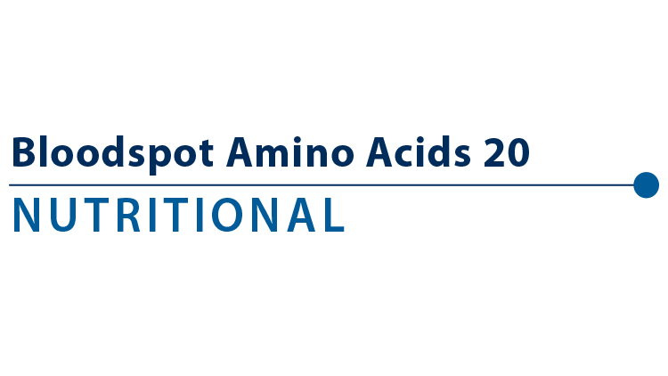 Bloodspot Amino Acids 20 Profile