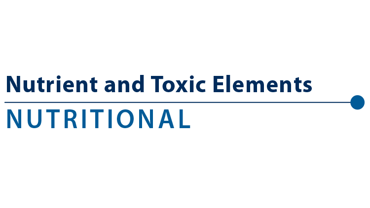 Nutrient & Toxic Elements - Blood